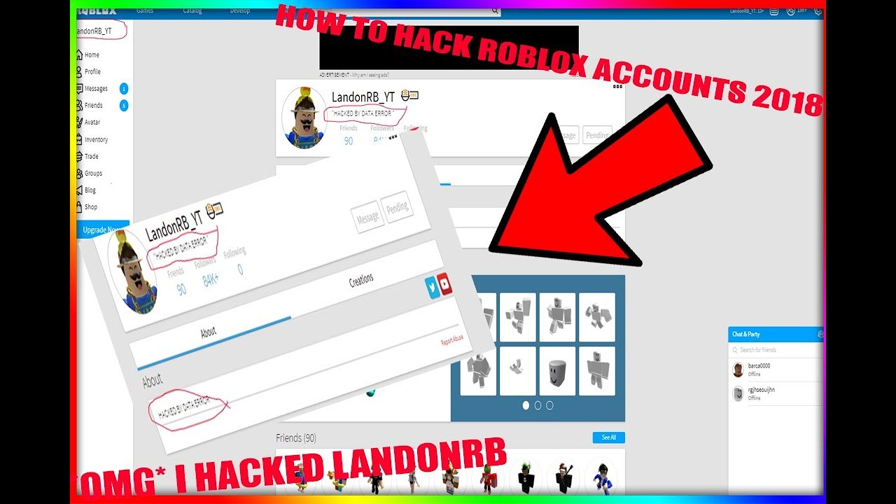 How To Hack Roblox Account On Phone لم يسبق له مثيل الصور Tier3 Xyz
